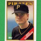 1988 Topps Baseball #244 Jeff D. Robinson - Pittsburgh Pirates