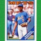 1988 Topps Baseball #233 Rafael Santana - New York Mets