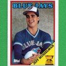 1988 Topps Baseball #229 Jeff Musselman - Toronto Blue Jays