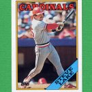 1988 Topps Baseball #208 Steve Lake - St. Louis Cardinals