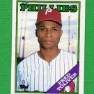 1988 Topps Baseball #203 Fred Toliver - Philadelphia Phillies