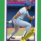 1988 Topps Baseball #198 Franklin Stubbs - Los Angeles Dodgers