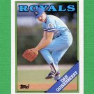 1988 Topps Baseball #195 Dan Quisenberry - Kansas City Royals