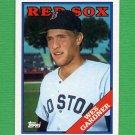1988 Topps Baseball #189 Wes Gardner - Boston Red Sox