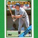 1988 Topps Baseball #182 Ken Phelps - Seattle Mariners