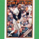 1988 Topps Baseball #180 Terry Kennedy - Baltimore Orioles NM-M