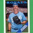 1988 Topps Baseball #169 Ross Jones - Kansas City Royals