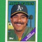 1988 Topps Baseball #166 Rick Rodriguez - Oakland A's