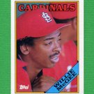 1988 Topps Baseball #160 Willie McGee - St. Louis Cardinals