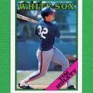 1988 Topps Baseball #158 Tim Hulett - Chicago White Sox