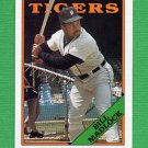 1988 Topps Baseball #145 Bill Madlock - Detroit Tigers