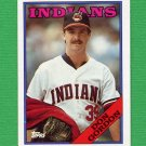 1988 Topps Baseball #144 Don Gordon - Cleveland Indians