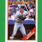 1988 Topps Baseball #142 Andy Van Slyke - Pittsburgh Pirates