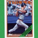1988 Topps Baseball #128 Johnny Grubb - Detroit Tigers