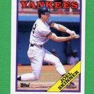 1988 Topps Baseball #109 Joel Skinner - New York Yankees