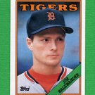 1988 Topps Baseball #106 Jim Walewander - Detroit Tigers NM-M