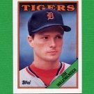 1988 Topps Baseball #106 Jim Walewander - Detroit Tigers Ex