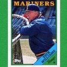 1988 Topps Baseball #104 Dick Williams MG / Seattle Mariners Team Checklist NM-M