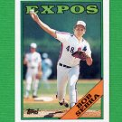 1988 Topps Baseball #093 Bob Sebra - Montreal Expos