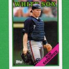 1988 Topps Baseball #086 Ron Karkovice - Chicago White Sox