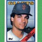 1988 Topps Baseball #068 Dave Dravecky - San Francisco Giants