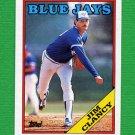 1988 Topps Baseball #054 Jim Clancy - Toronto Blue Jays