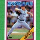 1988 Topps Baseball #026 Mitch Williams - Texas Rangers