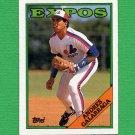 1988 Topps Baseball #025 Andres Galarraga - Montreal Expos Ex