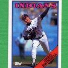 1988 Topps Baseball #022 Greg Swindell - Cleveland Indians