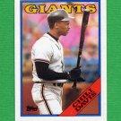 1988 Topps Baseball #015 Chili Davis - San Francisco Giants NM-M