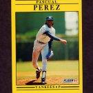 1991 Fleer Baseball #675 Pascual Perez - New York Yankees