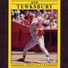 1991 Fleer Baseball #648 Bob Tewksbury - St. Louis Cardinals
