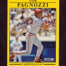 1991 Fleer Baseball #641 Tom Pagnozzi - St. Louis Cardinals