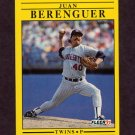 1991 Fleer Baseball #604 Juan Berenguer - Minnesota Twins