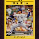1991 Fleer Baseball #586 Ted Higuera - Milwaukee Brewers