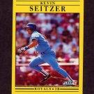 1991 Fleer Baseball #569 Kevin Seitzer - Kansas City Royals