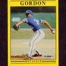 1991 Fleer Baseball #559 Tom Gordon - Kansas City Royals