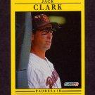 1991 Fleer Baseball #526 Jack Clark - San Diego Padres