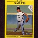 1991 Fleer Baseball #517 Dave Smith - Houston Astros