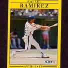 1991 Fleer Baseball #513 Rafael Ramirez - Houston Astros