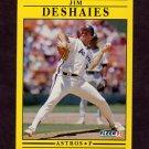 1991 Fleer Baseball #506 Jim Deshaies - Houston Astros
