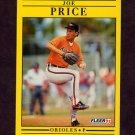 1991 Fleer Baseball #488 Joe Price - Baltimore Orioles