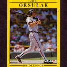 1991 Fleer Baseball #487 Joe Orsulak - Baltimore Orioles