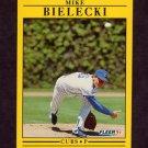 1991 Fleer Baseball #415 Mike Bielecki - Chicago Cubs