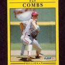 1991 Fleer Baseball #392 Pat Combs - Philadelphia Phillies