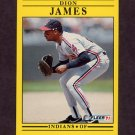 1991 Fleer Baseball #371 Dion James - Cleveland Indians