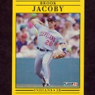 1991 Fleer Baseball #369 Brook Jacoby - Cleveland Indians