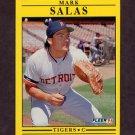 1991 Fleer Baseball #350 Mark Salas - Detroit Tigers