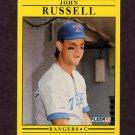 1991 Fleer Baseball #301 John Russell - Texas Rangers