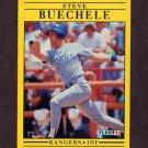 1991 Fleer Baseball #283 Steve Buechele - Texas Rangers